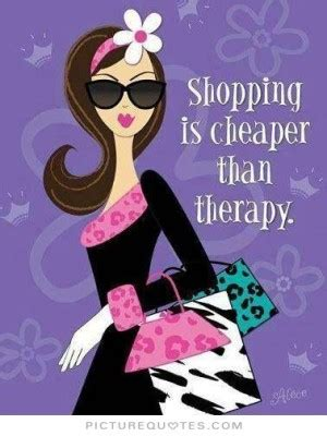 shopping quotes  sayings quotesgram