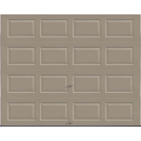 7 ft wide garage door ideal door 174 3 standard value non insulated garage