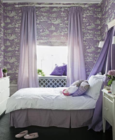 sehr kleines schlafzimmer lila schlafzimmer 31 kreative beispiele