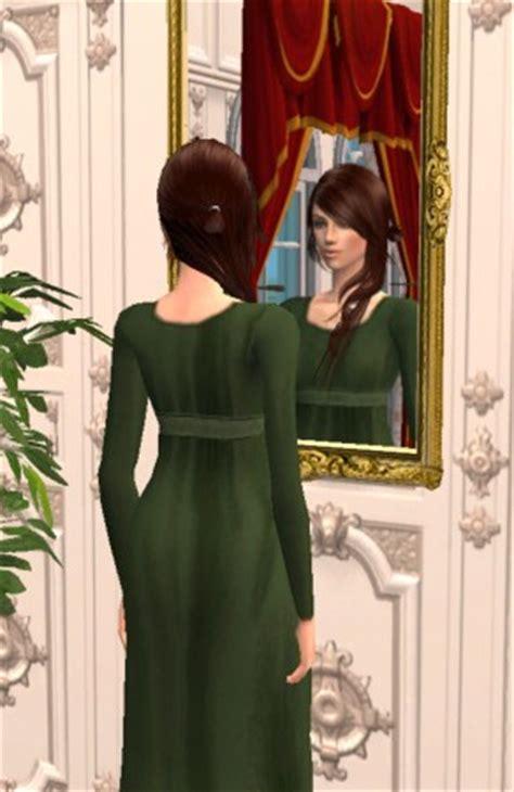 mod the sims pride & prejudice: elizabeth's everyday dresses
