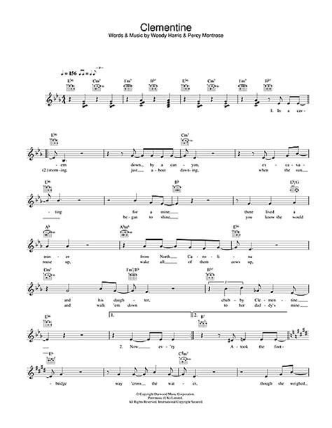 clementine lyrics clementine chords by bobby darin melody line lyrics