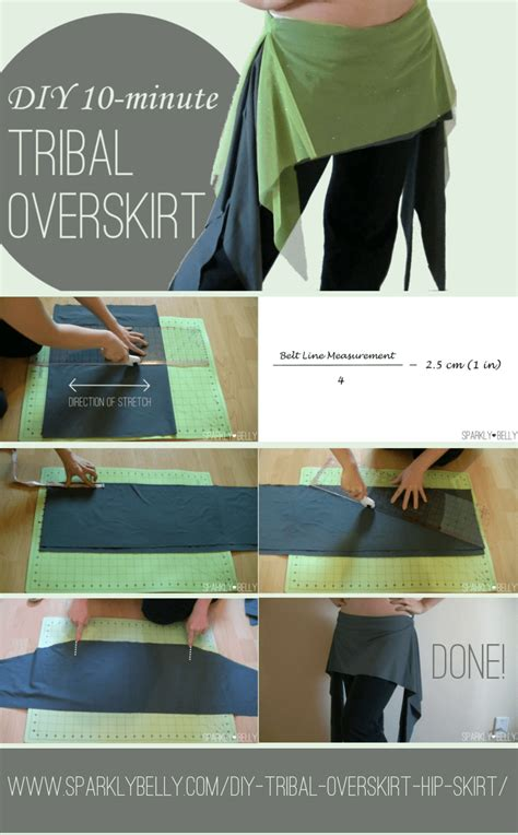 tribal overskirt pattern diy 10 minute tribal overskirt hip skirt with side