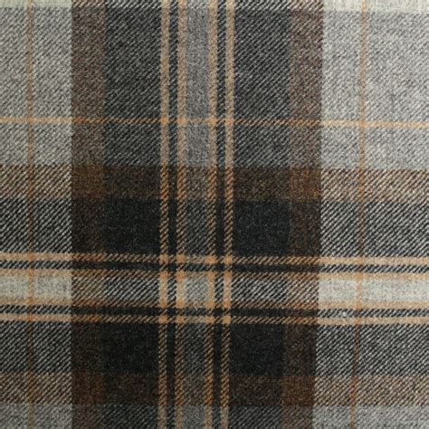 plaid curtain fabric 100 pure scotish upholstery wool woven tartan check plaid