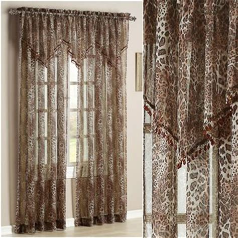 leopard window curtains leopard scarf valance leopard print curtains party