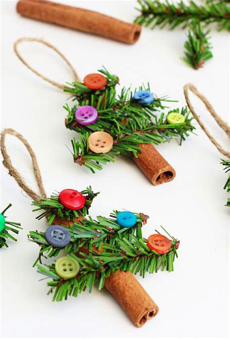 Tree Ornaments Handmade - 38 easy handmade ornaments