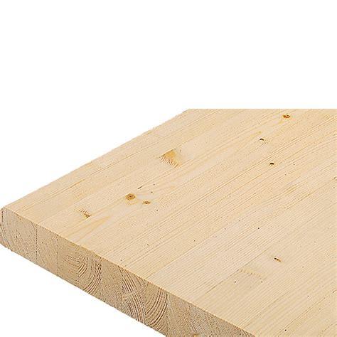 Arbeitsplatte Fichte by Massivholzplatte Fichte 240 Cm X 60 Cm X 4 Cm Bauhaus