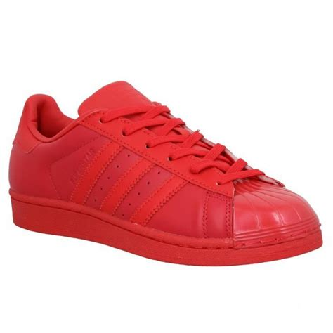 Superstar Rouge | baskets adidas superstar 40 glossy rouge glossy rouge