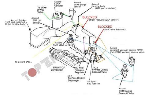 1994 honda accord vacuum diagram auto engine and parts