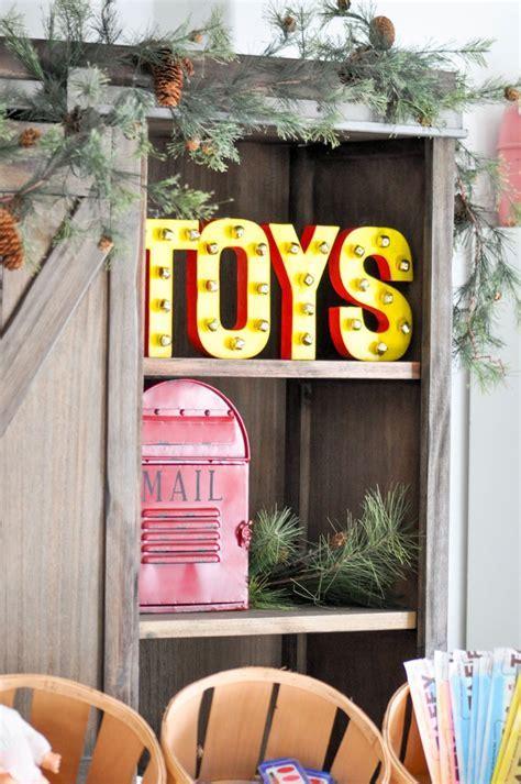 Kara's Party Ideas DIY Santa?s Workshop Bell 3D Toy