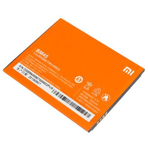 Battery Xiaomi Note 2 Baterai Xiaomi Note 2 xiaomi redmi note 2 battery bm45 orange