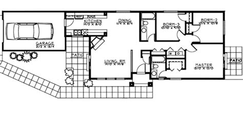 450 sq ft floor plan ranch style house plan 3 beds 2 baths 1193 sq ft plan