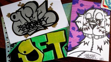 griz   graffiti sticker trade youtube