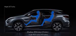 Lexus Rx 350 Cargo Dimensions Lexus 2016 Rx Dimensions