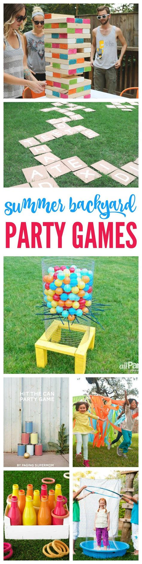 backyard birthday games 25 best ideas about backyard barbeque party on pinterest