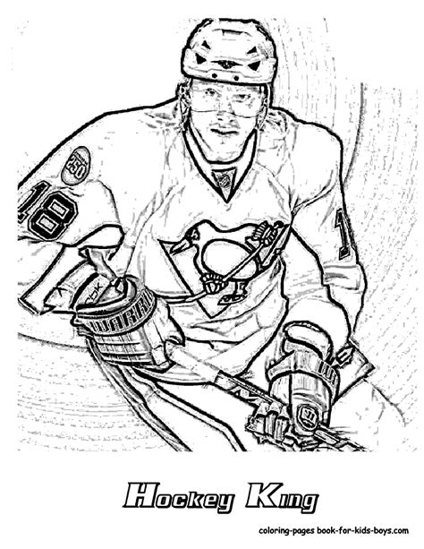 hockey coloring pages of sidney crosby coloriage hockey les beaux dessins de sport 224 imprimer