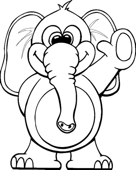elephant coloring pages for toddlers circus elephant coloring pages ideas to kids
