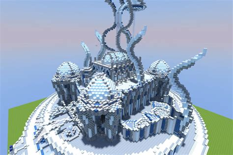 House Blue Prints by Everantha Ice Temple Mini Build Series Minecraft Project