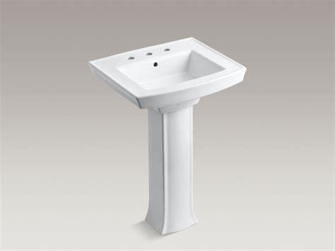 kohler archer pedestal sink standard plumbing supply product kohler k 2359 8 0