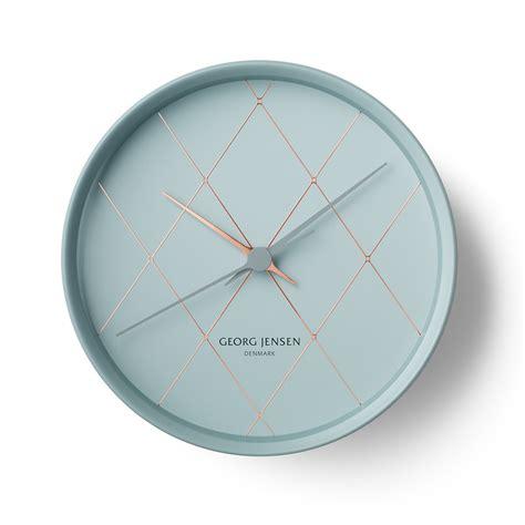 wanduhr grau hk wall clock grau henning koppel georg