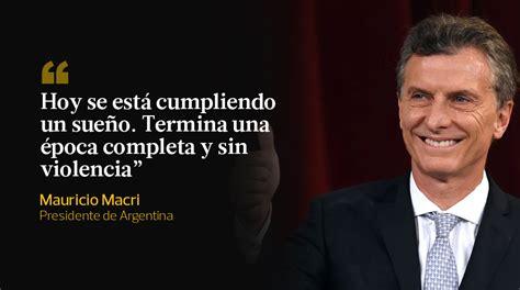imagenes de macri en la epoca de los militare argentina las diez frases de mauricio macri como