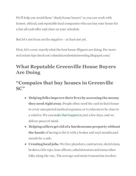 we buy houses greenville we buy houses in greenville companies are they credible