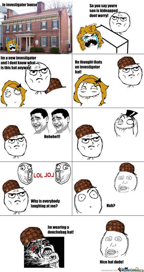 Douche Hat Meme - douchebag hat by jamish03 meme center