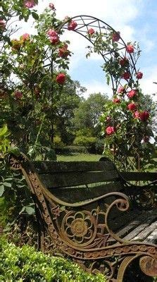rose arch with bench 1000 images about benches on pinterest park benches