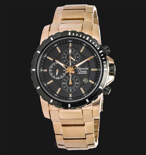 Alexandre Christie Ac6141 Black alexandre christie ac 6141 mc bcaba chronograph black rosegold tone jamtangan