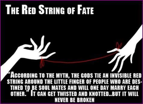 String Of Fate - the string of fate quotes tattoos hilarious things