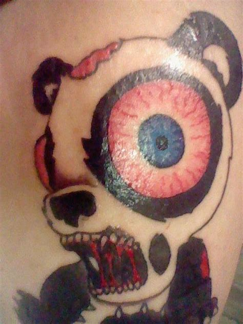 Panda Chest Tattoo Girl Tumblr | crazy tattoo face panda tattoo tumblr