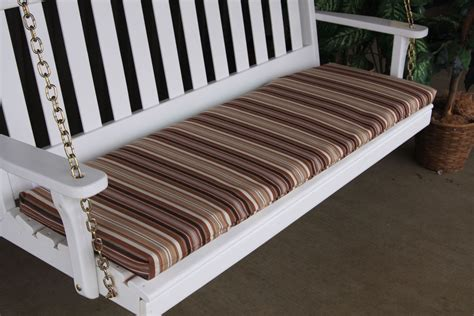 amish woodwork bench cushion 6 2 inch thick 187 amish woodwork