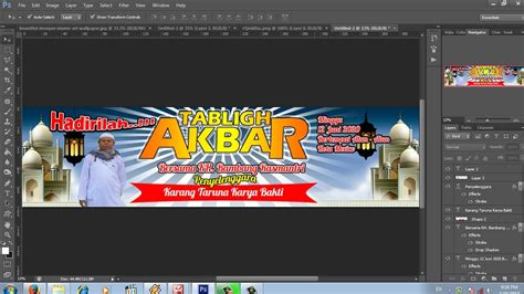 tutorial photoshop cs6 bahasa melayu cara buat banner dengan photoshop cs6 versi on the spot