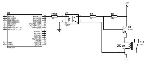 optocoupler load resistor pc817 photocoupler