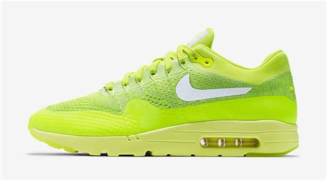 Sneakers Nike Air Max 1 Flyknit Volt nike air max 1 ultra flyknit volt sneaker bar detroit