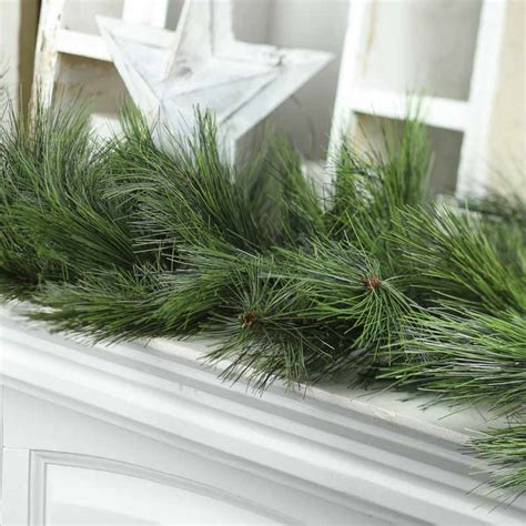 needle pine garland artificial 28 images garland for