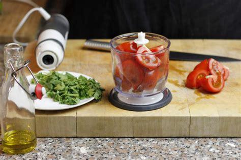 Blender Zet Blend zelf mexicaanse kip fajitas maken