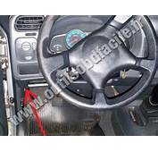 OBD2 Connector Location In Chevrolet S10 2004  2012