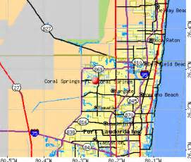 coral springs florida fl profile population maps
