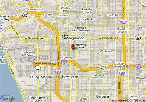 inglewood california usa map map of 8 motel inglewood airport lax inglewood