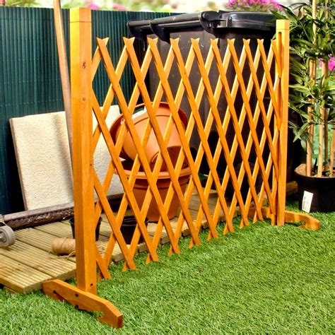 Freestanding Trellis Expanding Fence Garden Screen Trellis Style Expands To 6 4