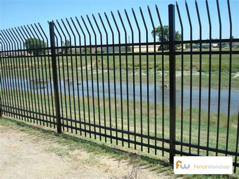 fence great metal fence design metal security fences