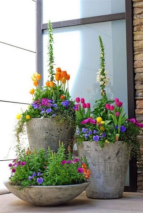 flower pots designs welcome spring 17 great diy flower pot ideas for front