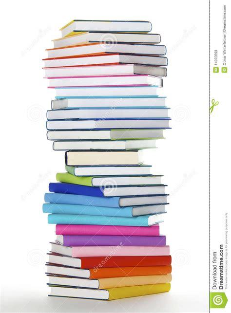 libro enri 400042280 hardback spiral spiral stack of rainbow colored books stock photos image 14070593