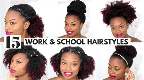afro hairstyles for work hairstyles