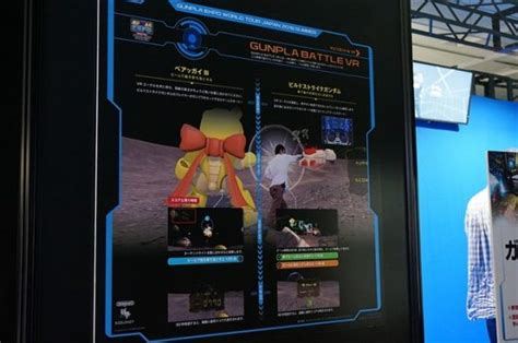 fight like a gundam in anime vr experience