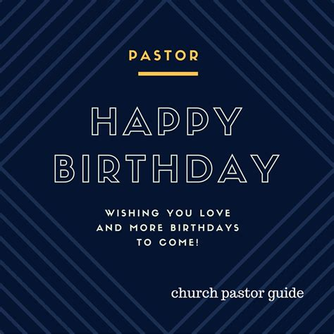Happy Birthday Wishes For A Pastor Birthday Poems For Pastor For A Church Occasion