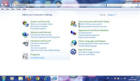 Cara Hapus Atau Uninstal cara uninstall atau hapus software pada windows 7 herryant88