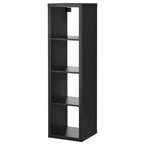 etagere 100 cm kallax shelving unit black brown 42x147 cm ikea