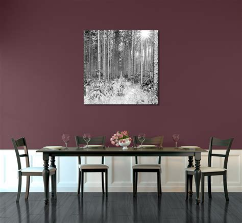 Dining Room Artwork Prints by Sunburst 50 X 50 Inch Canvas Gallery Wrapped Print In