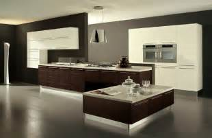 Modern Kitchen Interiors Big Modern Kitchen My Home Style